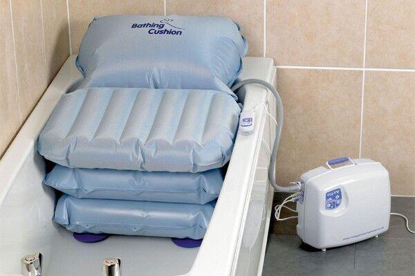 Mangar Handy Bather - Inflatable Bath Seat / Lift- Mobility Aid ...