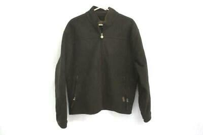 Outback Trading Windbreak Fleece Jacket Men's Brown Sz Medium Great - Barrier Fleece Jacket