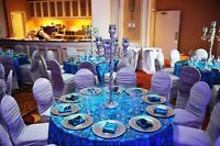 Chair Covers Rental From $0.99, Table Cloth Rental Service Linen