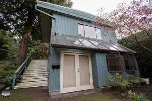 $1280(ORCA_REF#975A)SPACIOUS WEST VAN BACHELOR LANEWAY HOME
