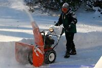 Snow removal service for this winter 2015-2016