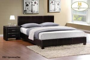 Contemporary Style Queen Platform Bed (MA680)