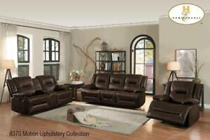 Brown Leather  Recliner sofa Set for Living Room (BD-2436)