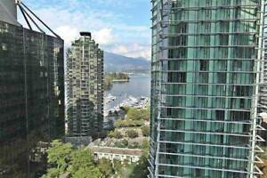 Amazing Views From The Lions! 1 Bed Plus Den Coal Harbour Beauty