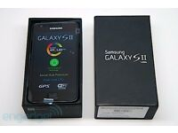 SAMSUNG GALAXY S2 BLACK/WHITE UNLOCKED LIKE NEW CONDITION BOXED