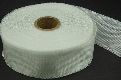 New Fiberglass Cloth Tape E-glass Fiber Plain Weave Insulation 25mm X 15m