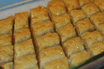 VEGAN  Sugar Free Traditional Pistachio Baklava-12 piece