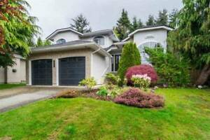 five bedroom family house for rent in South Surrey Ocean Park