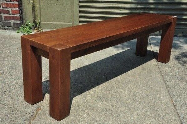 Teak Wood Bench Indoor Outdoor Furniture Clearance