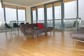 Fab penthouse with views of Olympic Park. Wrap round balcony. All mod cons.