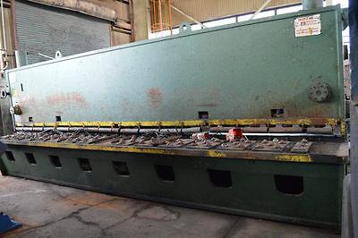 20 X 38 Lvd 20-oh-37 Hydraulic Plate Shear - 27445