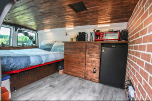 Stealthy Camper Van with Brand New Transmission!
