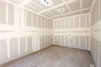 Drywall boarding taping texture ceiling