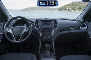 Hyundai Santa Fe OEM Fit Navigation GPS Backup Camera BT DVR