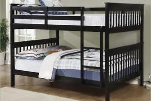 NEW ★ Solid Wood Splittable Bunk Beds ★Full/Full