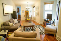 Renovated Outremont 5 1/2 - Steps from Mile End, parking