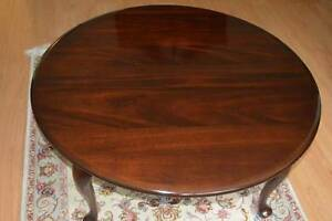 "GIBBARD 38"" ROUND CANADIAN LEGACY COFFEE TABLE - $275"