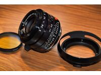Leica Summicron-M 35mm f/2 ASPH Lens - PERFECT CONDITION