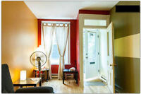 $900 / 1br - Plateau 1 block Laurier Metro FURN Move now!