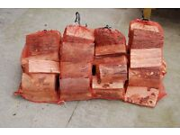 Bagged logs forsale