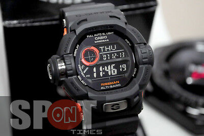"Casio G-Shock Riseman ""Men in Smoky Gray"" Men's Watch G-9200GY-1 for sale  Shipping to Canada"