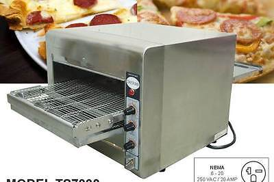 Omcan Ce-tw-0356 Conveyor Commercial Countertop 14 Pizza And Baking Oven New