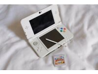 'New' Nintendo 3Ds + SONIC BOOM FIRE+ICE (game card)