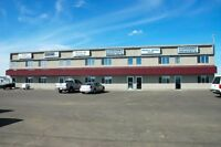 3 bays, prime hwy 16A frontage, Stony Plain, store front, yard