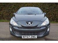 Fantastic Value 2007 57 Peugeot 308 1.6 Sport 5 Door Hatchback November MOT HPI Clear Trade Sale