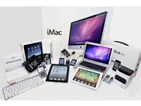 WANTED ££ I BUY IPHONES /IPADS / MACBOOKS / IMACS / SLR CAMERAS / TVS / SAMSUNGS