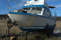Cabin Cruiser Equipped for Charter Boat