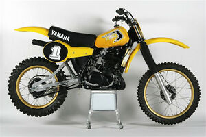 Wanted 1980 or 1981 Yamaha YZ250 and YZ465 motocross bikes