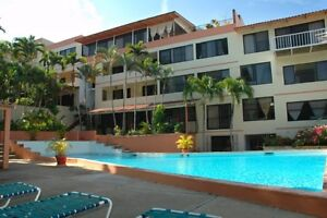 Live a month in a 2 bedroom poolside condo in beach town in D.R.