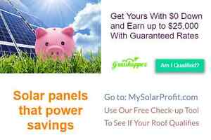 Solar Panels that power savings Get Yours at $0 & Start Earning