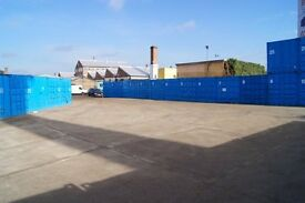 20ft & 40ft storage containers available immediately!