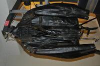 Mens Motorcycle Jacket Size Large