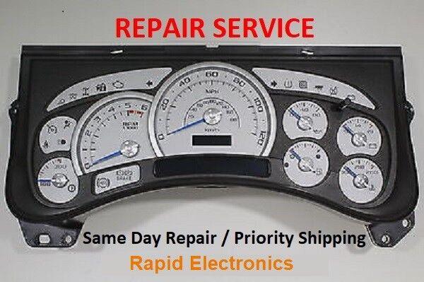 Hummer H2 2003 - 2006 Instrument Gauge Cluster Speedometer IP Repair