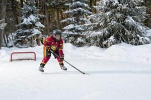 Back Yard Skating / Hockey Rinks Installation
