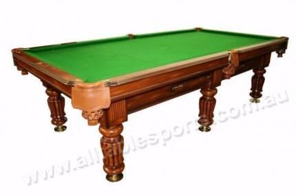 Special - 9 Foot Slate Emperor Billiards Table (Floor Table)