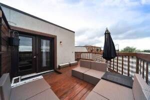 Beautiful FURNISHED PENTHOUSE with ROOFTOP great location - JAN