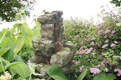 Gartenbrunnen / Springbrunnen Ubbink Wasserfall Chios