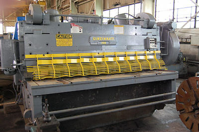 10 X 1 Cincinnati-inc 10010 Mechanical Power Squaring Shear - 26137