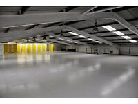 Large bulk storage warehouse space