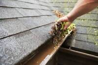 Eavestrough cleaning & repair