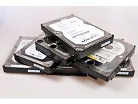 CCTV hard drives