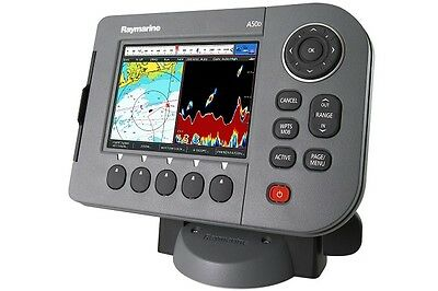 """Raymarine A57D 5.7"""" Chartplotter and Fishfinder Combo with triducer included"""