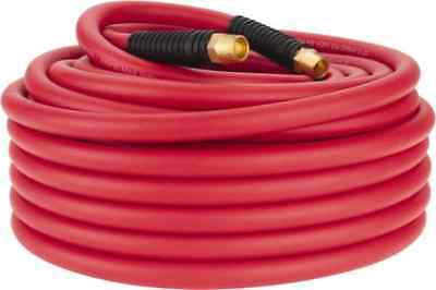 Jupiter Pneumatics 12 Id Red Hybrid Polymer Multipurpose Air Hose 300 Psi ...