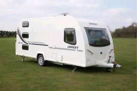 Triple Bunk Bailey Orion 450/5 2012 touring caravan for sale