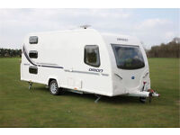 Bailey Orion 450-5 5 Berth caravan 2012, lightweigh to pull, including full size awning