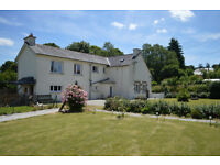 FŔANCE Brittany Lovely 5 bed property, edge of village, half an acre land, near Lake Guerlédan.